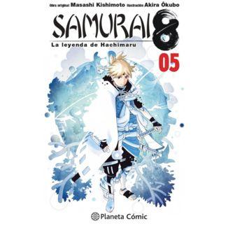 Samurai 8: La leyenda de Hachimaru #05 Manga Oficial Planeta Comic (spanish)
