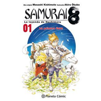 Samurai 8: La leyenda de Hachimaru #01 Manga Oficial Planeta Comic (spanish)