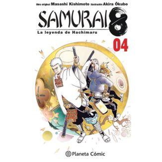 Samurai 8: La leyenda de Hachimaru #04 Manga Oficial Planeta Comic (spanish)