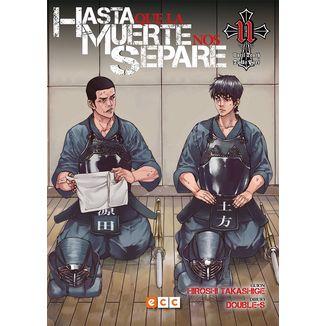 Hasta que la Muerte nos separe #11 Manga Oficial ECC Ediciones