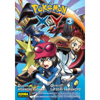 Pokemon X Y #03 Manga Oficial Norma Editorial