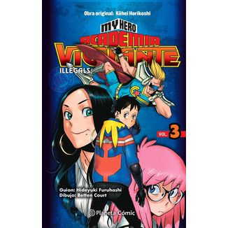 My Hero Academia Vigilante Illegals #03 Manga Oficial Planeta Comic (spanish)