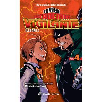 My Hero Academia Vigilante Illegals #04 Manga Oficial Planeta Comic (spanish)