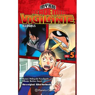 My Hero Academia Vigilante Illegals #05 Manga Oficial Planeta Comic (spanish)