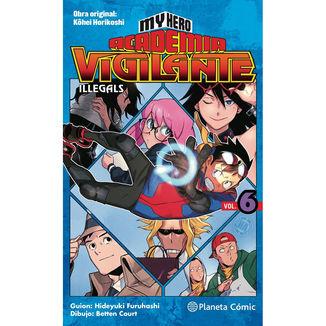 My Hero Academia Vigilante Illegals #06 Manga Oficial Planeta Comic