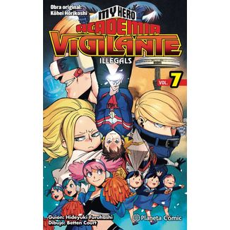 My Hero Academia Vigilante Illegals #07 Manga Oficial Planeta Comic (English)