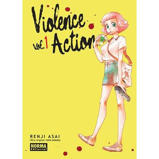 Violence Action #01 Manga Oficial Norma Editorial (spanish)