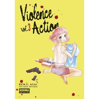 Violence Action #03 Manga Oficial Norma Editorial