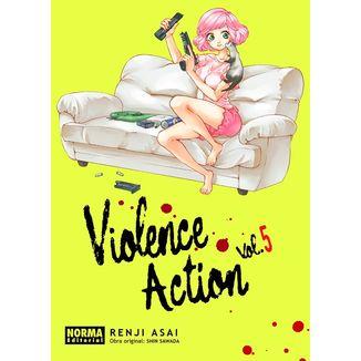 Violence Action #05 Manga Oficial Norma Editorial