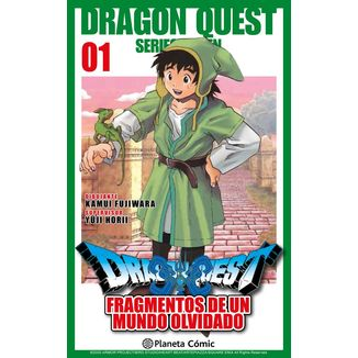 Dragon Quest VII: Fragmentos De Un Mundo Olvidado #01 Manga Oficial Planeta Comic (spanish)