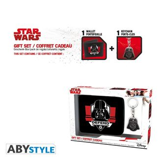 Wallet and Keychain Darth Vader Star Wars Pack
