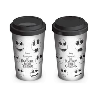 Jack Skellington travel mug Nightmare before Christmas