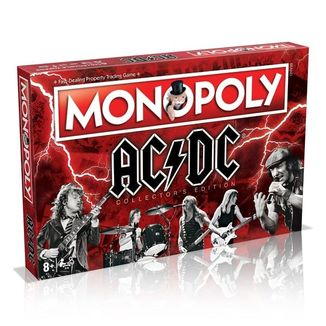 AC/DC Monopoly Board Game *English Edition*