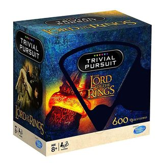 The Lord of the Rings Trivial Pursuit Card Game *English Edition*