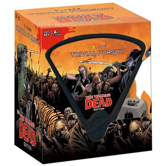 The Walking Dead Card Game Trivial Pursuit *English Edition*