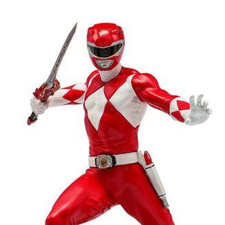 Estatua Red Ranger Power Rangers BDS Art Scale