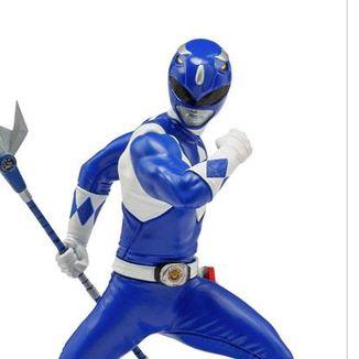Estatua Blue Ranger Power Rangers BDS Art Scale