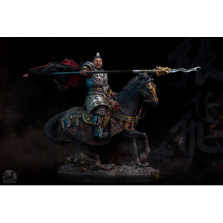 Estatua Zhang Fei Three Kingdoms