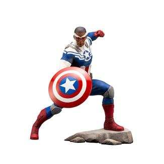 Figura Capitán América Sam Wilson PVC ARTFX