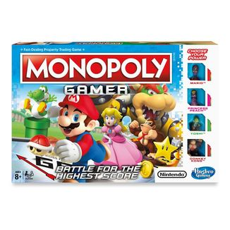 Nintendo Board Game Monopoly Gamer Mario Edition