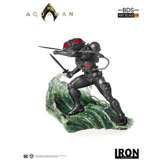 Estatua Black Manta Aquaman BDS Art Scale