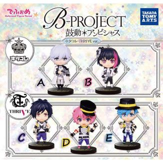 B-Project Gashapon - Ambitious Kitakore and THRIVE ver