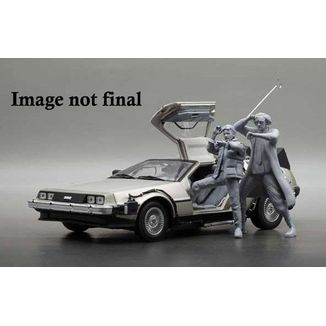 Figura 1983 DeLorean Dr Emmett Brown Back to the Future