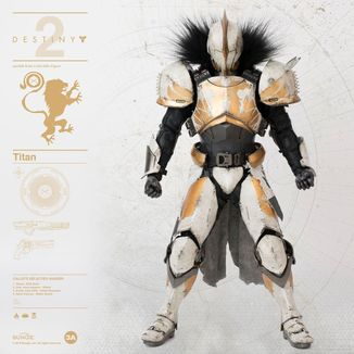 Figura Titan Calus's Selected Shader Destiny 2