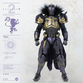 Figura Titan Golden Trace Shader Destiny 2
