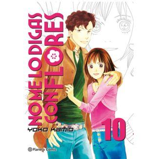 No me lo digas con Flores KANZENBAN #10 Manga Oficial Planeta Comic