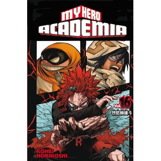 My Hero Academia #16 (spanish)