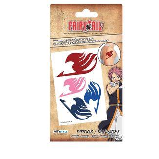 Lámina de Tatuajes Fairy Tail