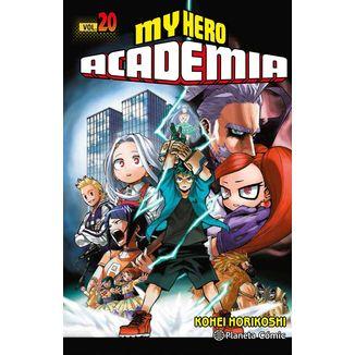 My Hero Academia #20 Manga Oficial Planeta Comic (spanish)