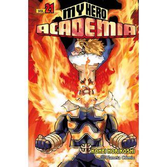 My Hero Academia #21 Manga Oficial Planeta Comic (spanish)