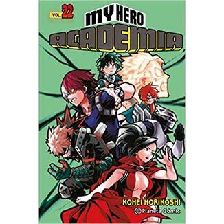 My Hero Academia #22 Manga Oficial Planeta Comic
