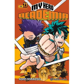 My Hero Academia #23 Manga Oficial Planeta Comic (spanish)