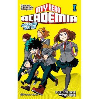 My Hero Academia: Anotaciones de la Yūei #01 Novela Oficial Planeta Comic (spanish)