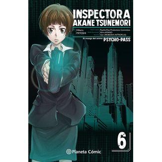 Inspectora Akane Tsunemori PSYCHO PASS #06 Manga Oficial Planeta Comic