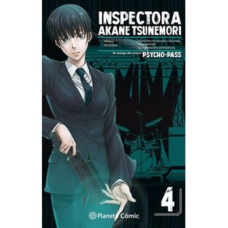 Inspectora Akane Tsunemori PSYCHO PASS #04 Manga Oficial Planeta Comic