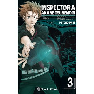 Inspectora Akane Tsunemori PSYCHO PASS #03 Manga Oficial Planeta Comic
