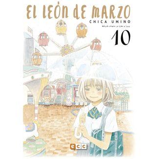 El León de Marzo #10 Manga Oficial ECC Ediciones