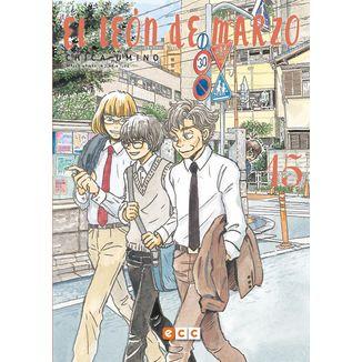 El León de Marzo #15 Manga Oficial ECC Ediciones (Spanish)