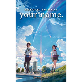 Your Name (Novela) Oficial Planeta Comic (Spanish)