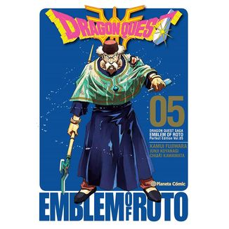 Dragon Quest Emblem of Roto #05 Manga Oficial Planeta Comic (spanish)
