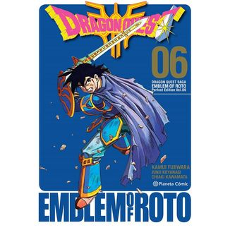 Dragon Quest Emblem of Roto #06 Manga Oficial Planeta Comic (spanish)