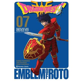 Dragon Quest Emblem of Roto #07 Manga Oficial Planeta Comic (spanish)