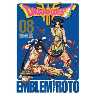 Dragon Quest Emblem of Roto #08 Manga Oficial Planeta Comic (spanish)