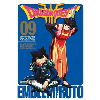 Dragon Quest Emblem of Roto #09 Manga Oficial Planeta Comic