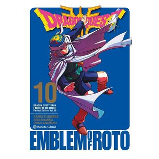 Dragon Quest Emblem of Roto #10 Manga Oficial Planeta Comic