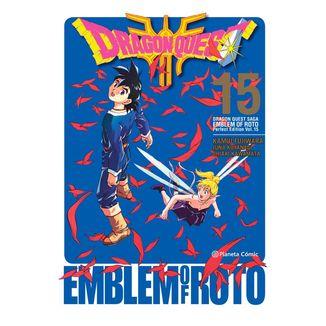 Dragon Quest Emblem of Roto #15 Manga Oficial Planeta Comic